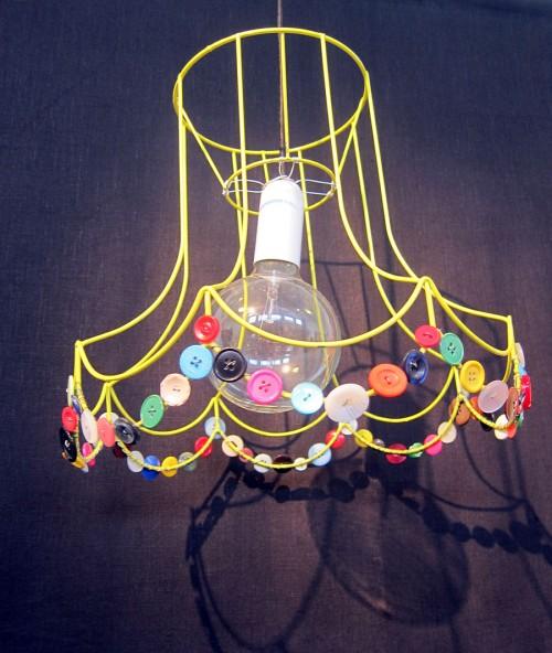 Liksom en strålande fin lampa. (Foto Kurbits)