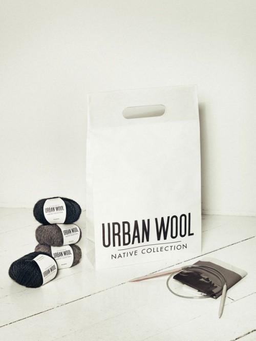 Allt material i en enda kasse. En beskrivning följer med! (Foto Urban Wool)