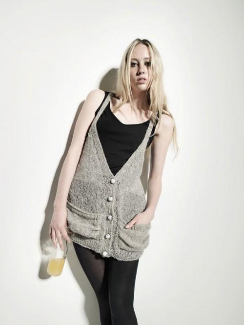 Modeller också för vuxna - också här levererade i påse med beskrivning. (Foto Urban Wool)