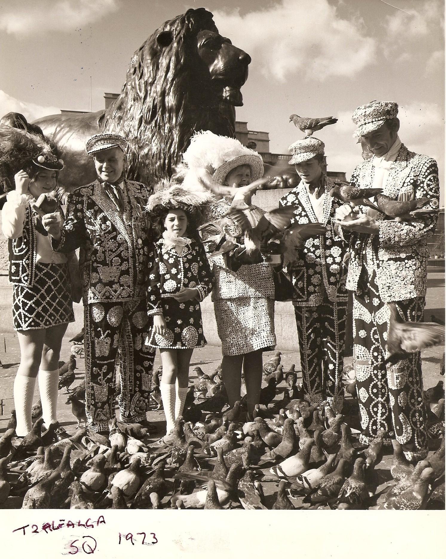 Fantastiska bilder från The Pearlies bildarkiv. (Foto The Pearlies)