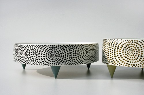Verk ur utställningen Shapes av Maria Pohl. (Foto Kaolin)