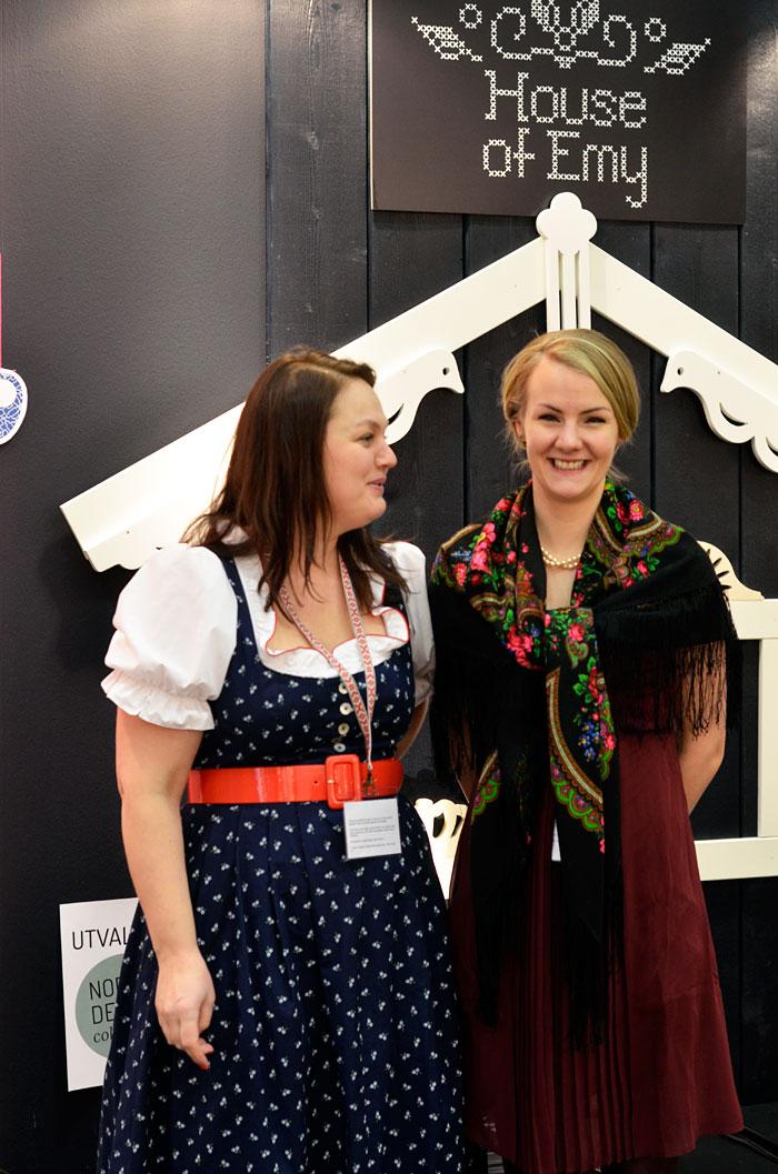 Åsa Kax till vänster och Karin Lindqvist till höger. Ett sant nöje att ses! (Foto Kurbits)