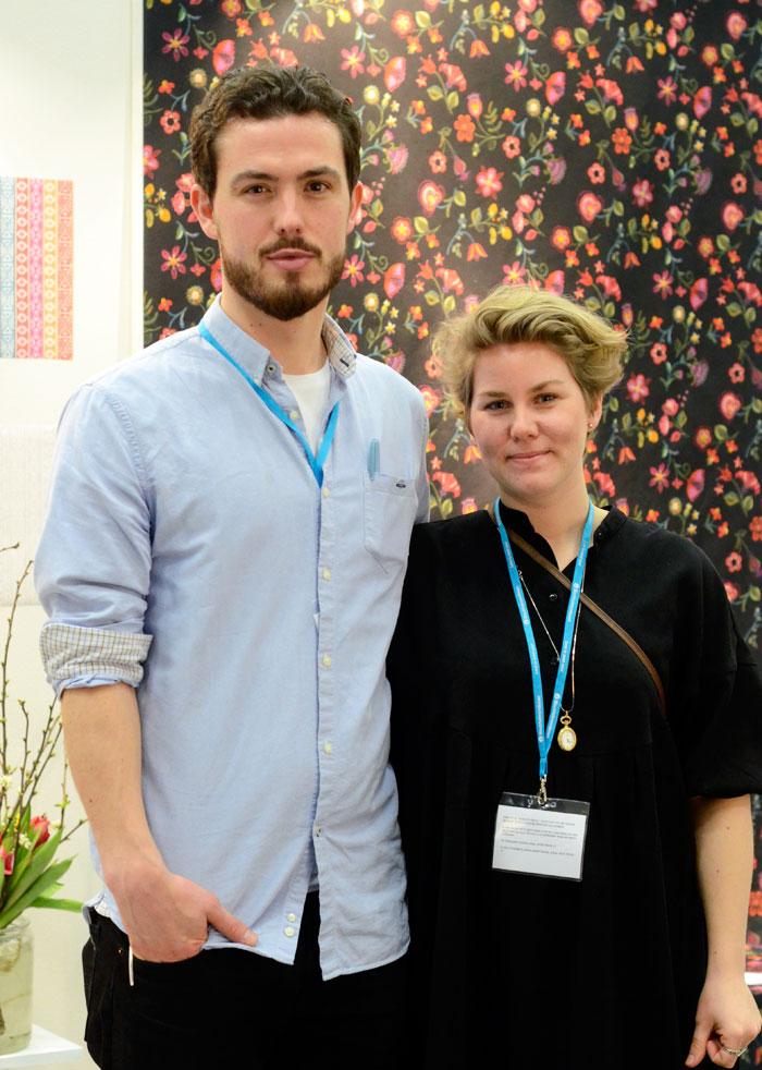 Oscar Lind Modin och Lina Holm. (Foto Kurbits)