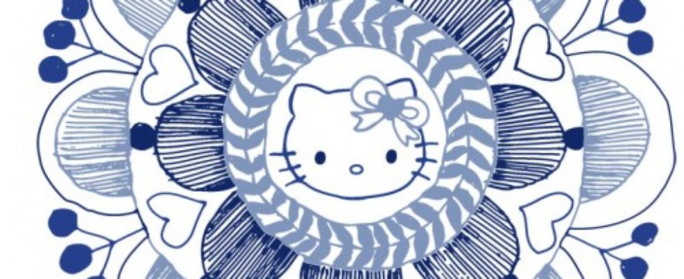Hello Kitty goes folklore