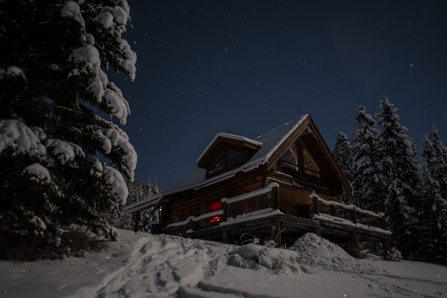 Stuga i Alberta, USA. (Foto Cabin Porn)