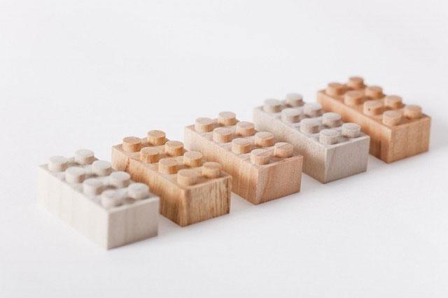 Lego i björk och lönn