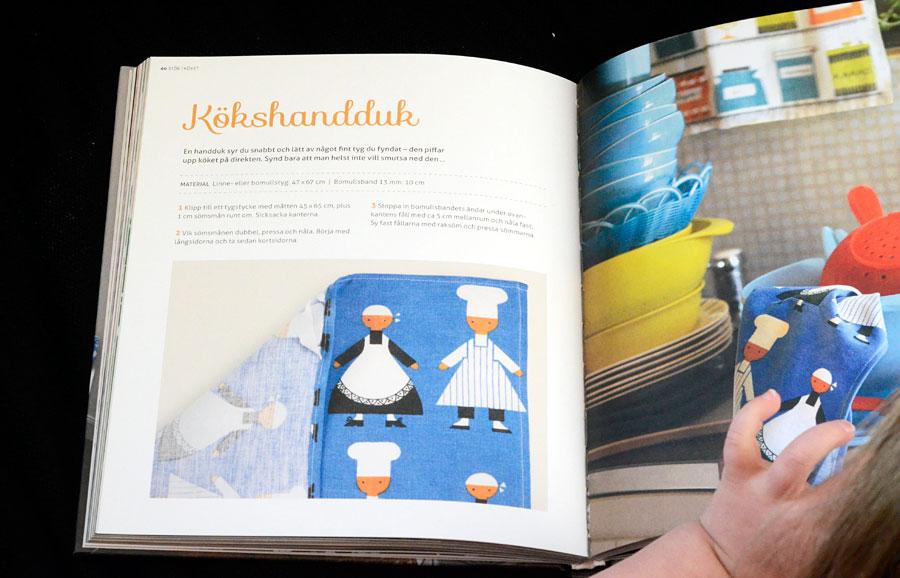 Boken Syjunta, 32 bra-att-ha-saker du kan sy själv, från bokförlaget Ordalaget. (Foto Kurbits)