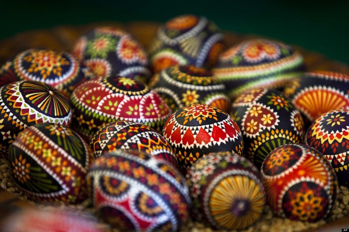 Sorbiska påskägg. (Foto Huffington Post)