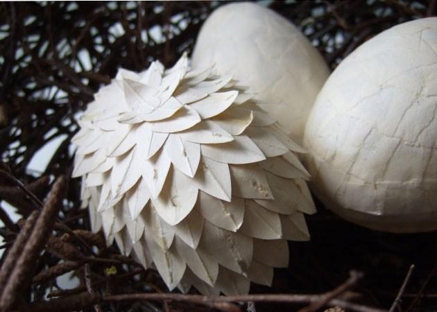Vackra ägg av Cecilia Levy. (Foto Cecilia Levy)