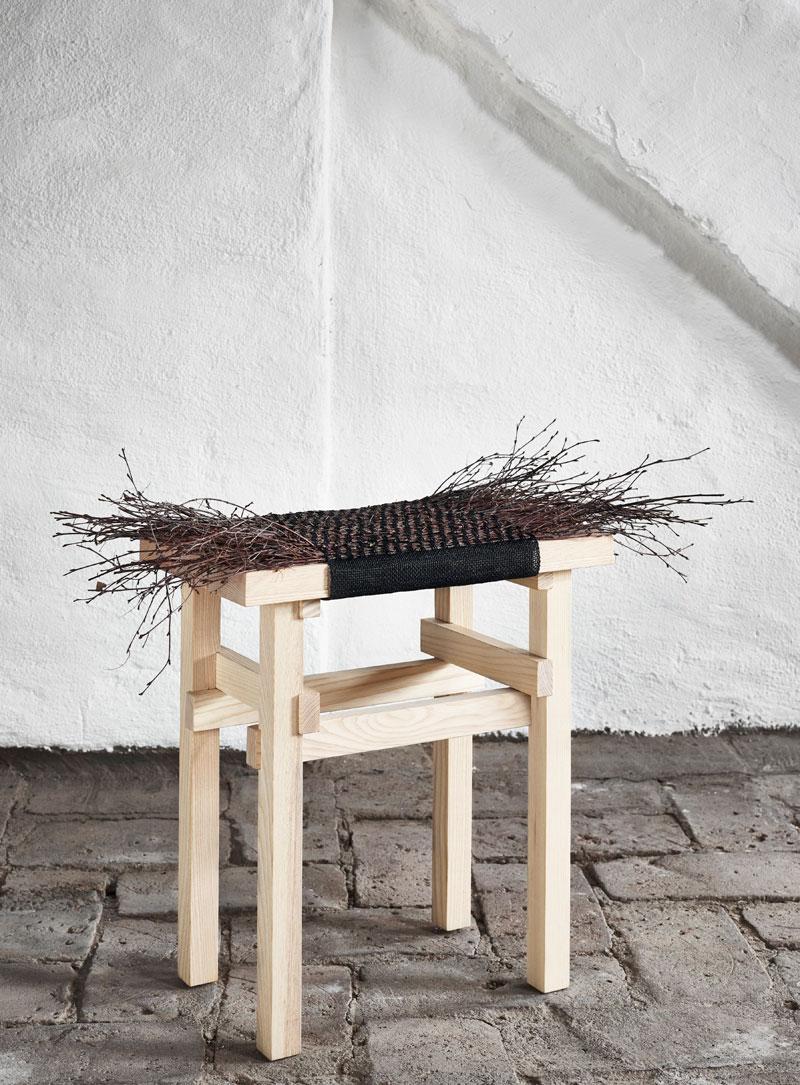 Med material som kvistar, papper och mossa i deras produkter får Twistin of Sweden ett eget uttryck. Mycket stiligt! (Foto Twistin of Sweden)