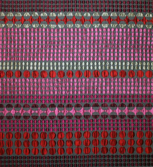 Textil från brittiska Margo Selby. (Foto Margo Selby)