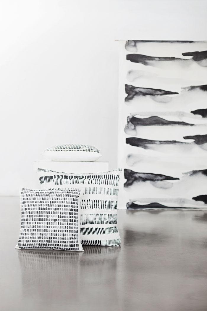 Textila landskap. Kollektion av Hanna Dalrot (Foto Hanna Dalrot)