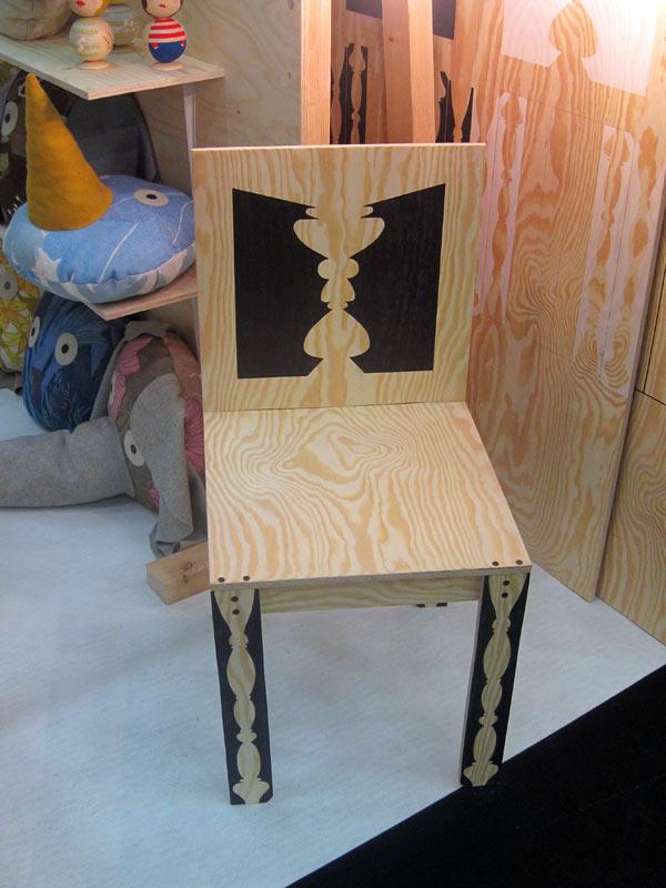 Fin stol från Young Designers-avdelningen. (Foto Kurbits)