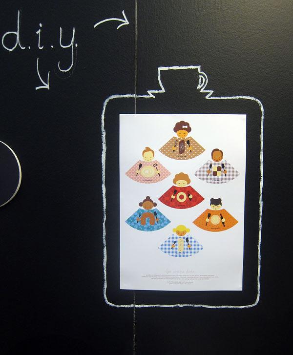 Kafferep hos Åsa Kax, med sitt DIY-koncept Craft my Draft. Finfina grejor! Sju sorters kakor, nej, figurer som du viker själv. (Foto Kurbits)