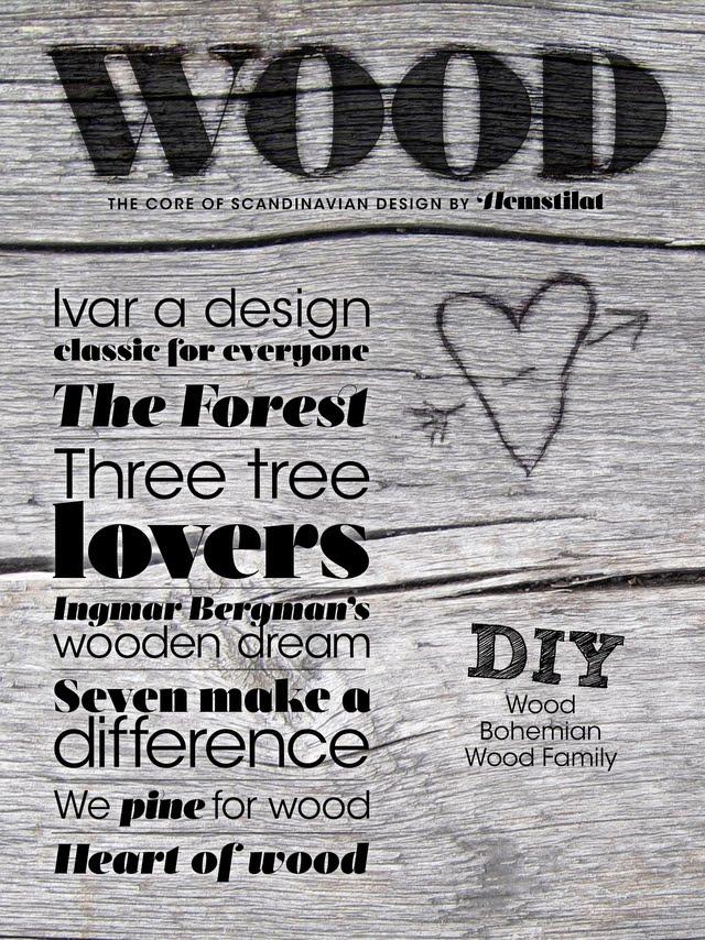 Också den igår släppta appen Wood från Hemstilat kommer att vara ett av mina ämnen. (Foto Hemstilat)