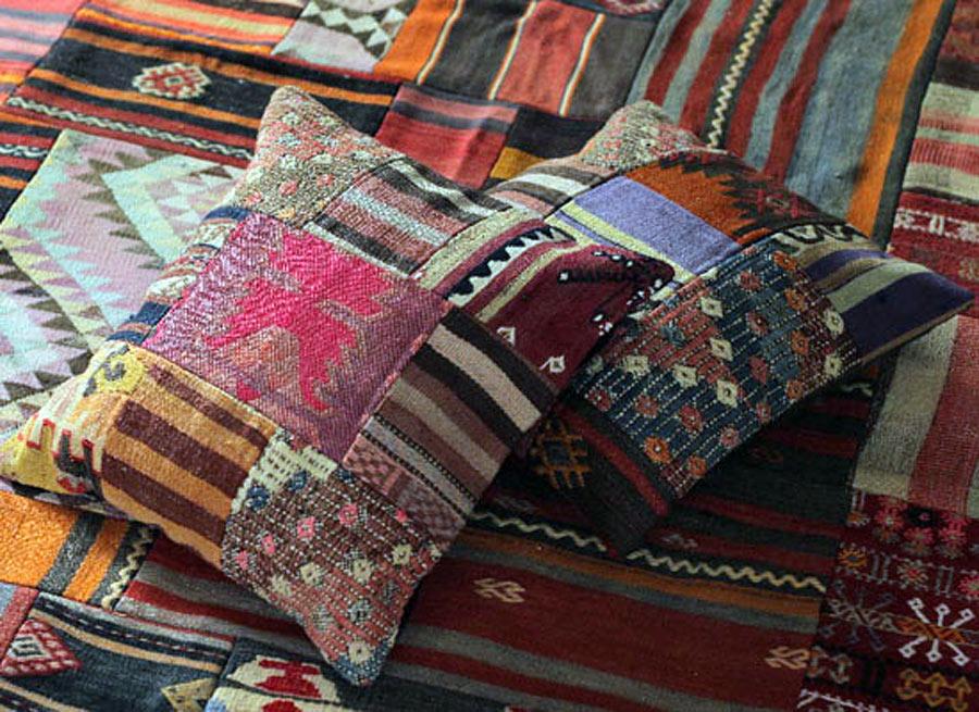 Textilier från Craft Collective, tillverkade i Turkiet. (Foto Craft Collective)