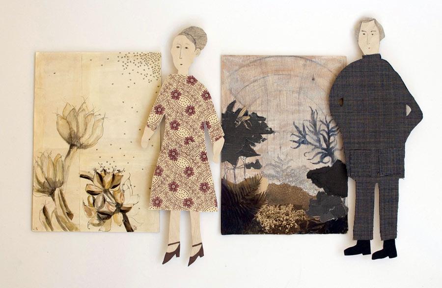 Duons kollage porträtterar trädgårdar och dess ägare. Här berättas historier och minnen om växtligheten och dess inverkan. (Foto Roerade Bryggare)
