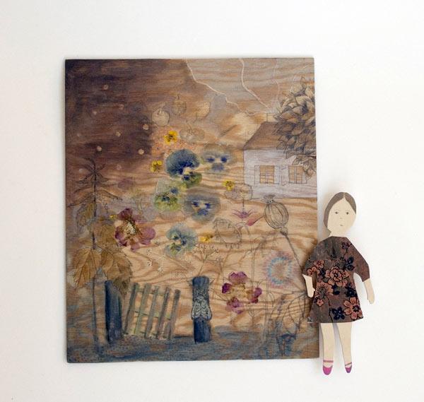 Sista bilden från utställningen Hortum Corodania. (Foto Roeraade Bryggare)