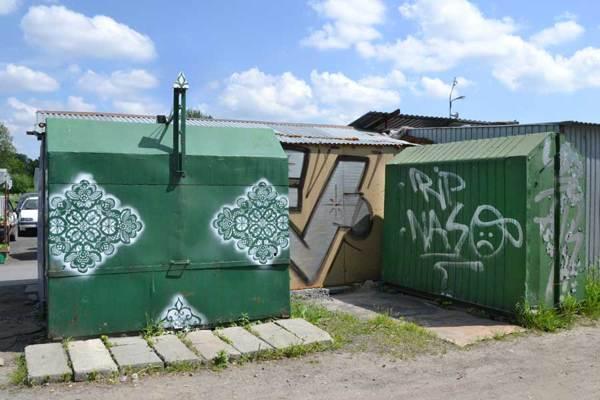 Ne Spoons spetsgraffiti pryder sin plats på gatorna. Kolla in hennes breda repertoar på Behance - imponerande! (Foto Ne Spoon/Behance)