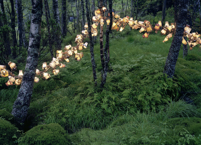 A grid of physical entities, 2012, av norske fotografen Rune Guneriussen. (Foto Rune Guneriussen)