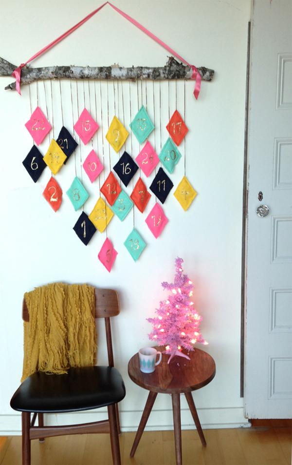 The Sweet Escape gör en mer rustik variant av kalendern. (Foto The Sweet Escape)