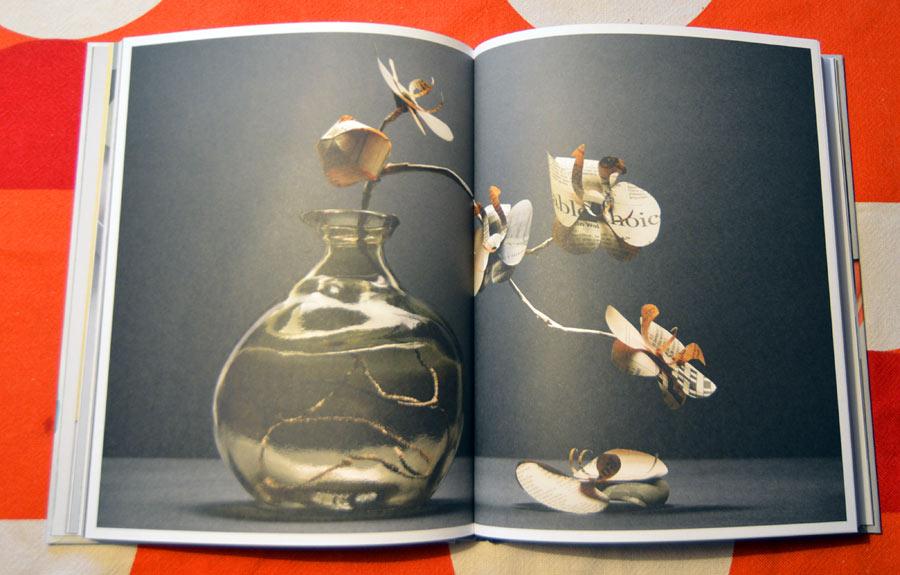 Papper är förstås helt fantastiskt om man hanterar det rätt - som Fideli Sundqvist till exempel. Ur boken I love paper. (Foto Maria Wretblad)
