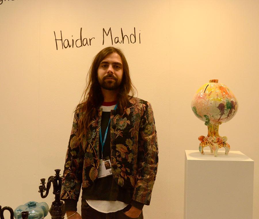 Haidar Mahdi själv. (Foto Kurbits)