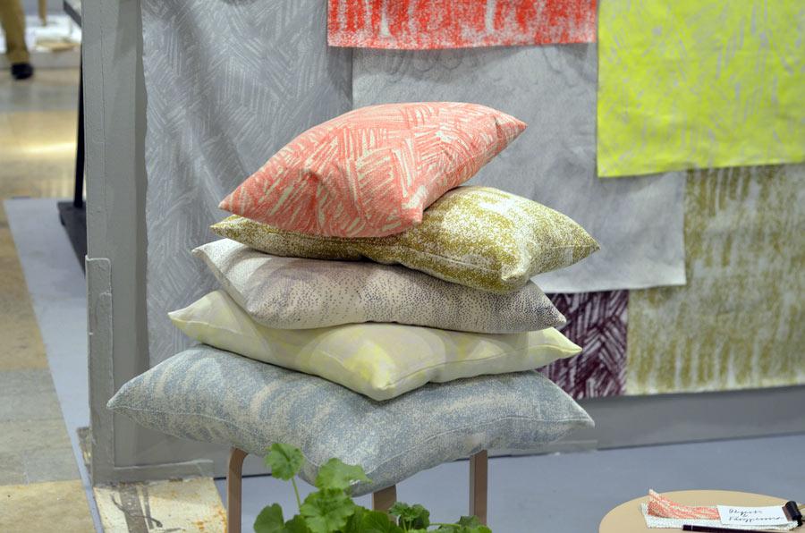 Textilier från Matilda Ekström och Amanda Boierth. (Foto Kurbits)
