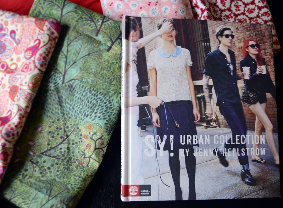 Sy! Urban Collection by Jenny Hellström heter den nya boken från Jenny Hellström Ruas, med beskrivningar på plagg du alltså syr själv. (Foto Kurbits)