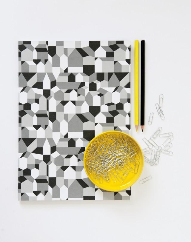 Ett av Fyrans många spännande mönster, nu hos Nordic Design Collective. (Foto Nordic Design Collective)