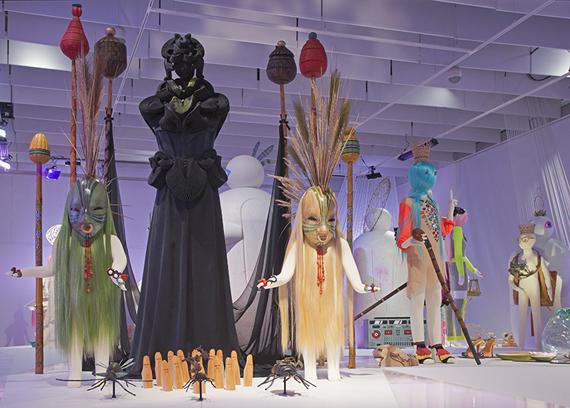 Bild från utställningen Next Level Craft på Västerbottens museum i Umeå. (Foto Anders Björkman)