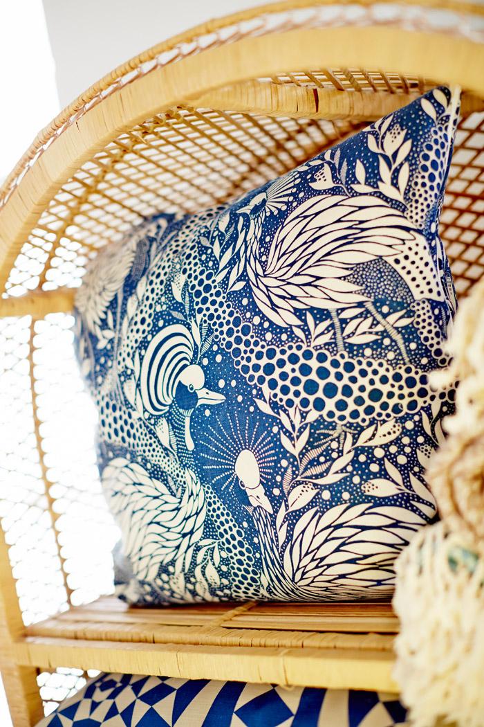 Emma von Brömssens textila mönster för House of Rym. (Foto House of Rym)