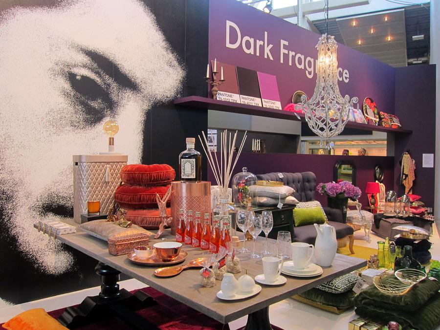 Dark Fragance är ett ytterligare av mässans tema. (Foto Kurbits)