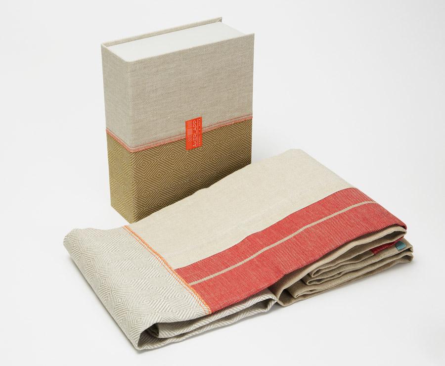 Note Design Studio i samarbete med Växbo Lin, fantastiskt fint! (Foto Stockholmsmässan)
