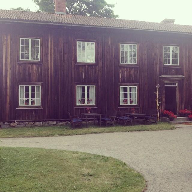 Träslottet en bit utanför Järvsö. (Foto Kurbits)
