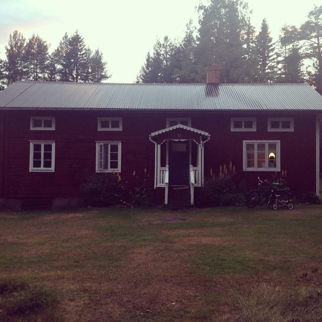 Det hus vi hyrde för andra året i rad. (Foto Kurbits)