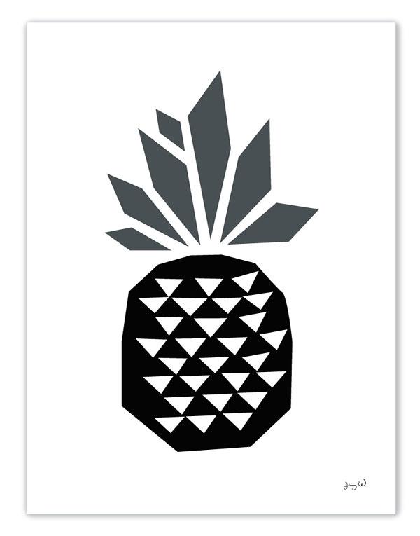 Ananas, detalj. Från Wallmark formstudio. (Bild Jenny Wallmark)
