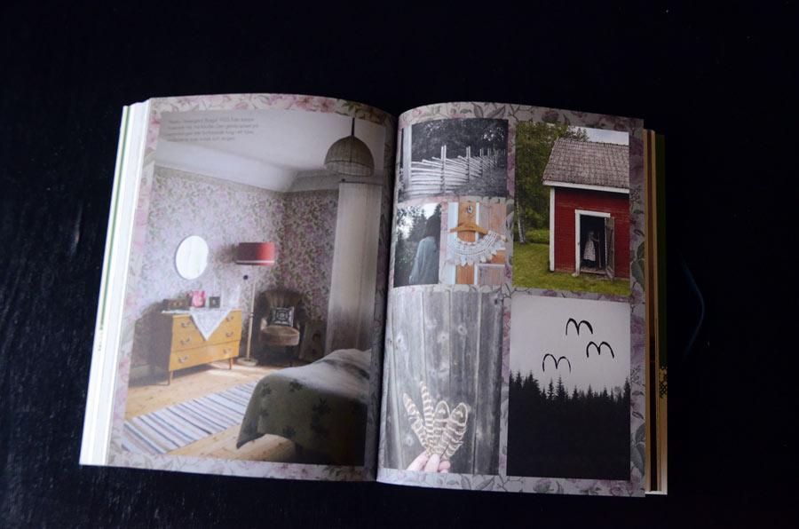 Boken Fine Little Day av Elisabeth Dunker speglar hennes vardag så som vi är vana att se den. vackert, lustfyllt och udda. (Foto uppslag Kurbits)