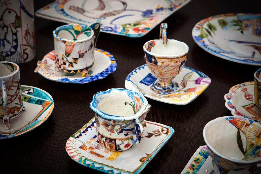 Keramik av Suso Fernández, Artesanía de Galicia. (Foto Artesanía de Galicia)