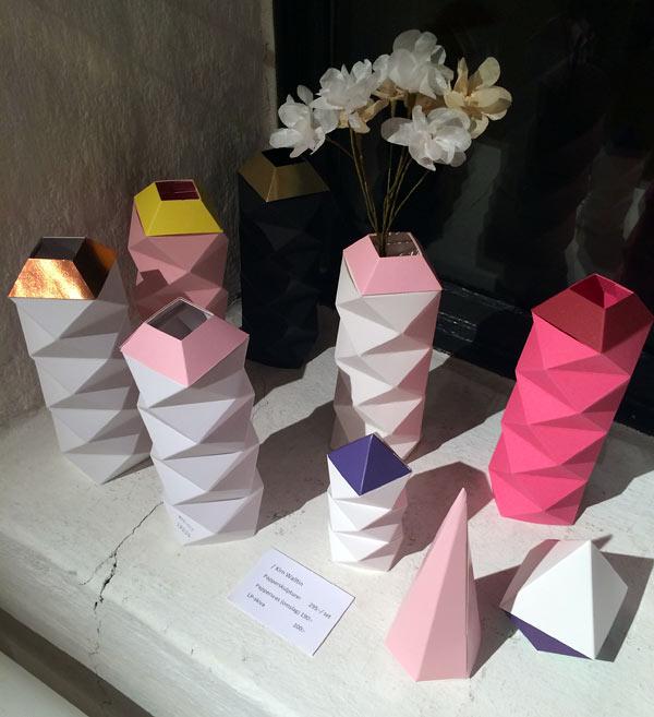 Kim Walltins fantastiska pappersskulpturer - högt på min önskelista! (Foto Kurbits)