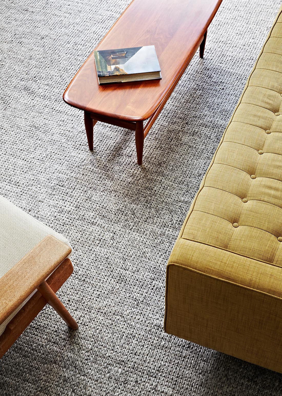 Från deras nyaste kollektion, Earth Collection, mattan Sierra tillverkad i ullblandning. (Foto Armadillo)