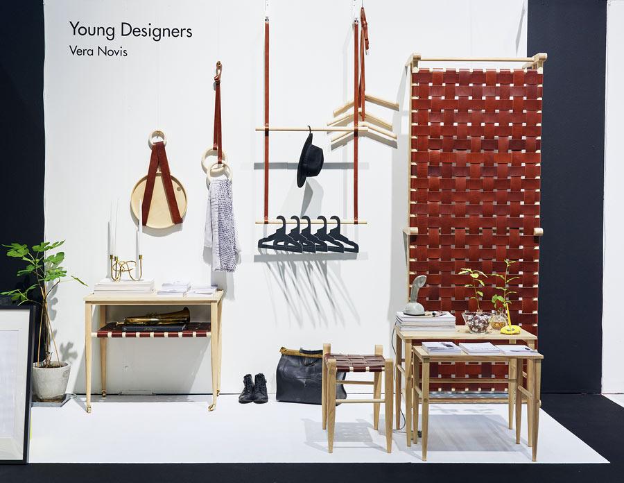 Fint hantverk från Vera Novis i Young Designers. (Foto Formex)