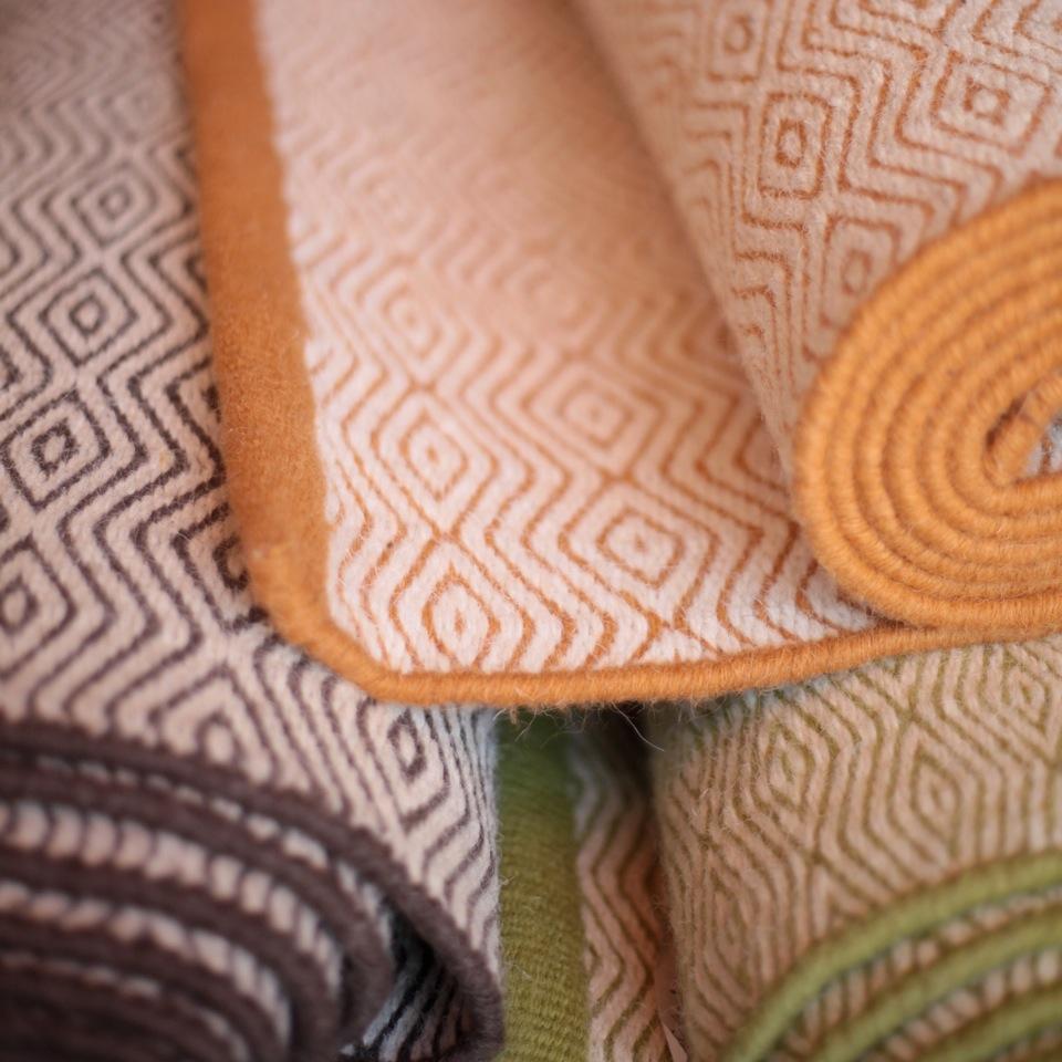 Modellen Zanzibar, tillverkad i ull från Nya Zealand. (Foto Armadillo)