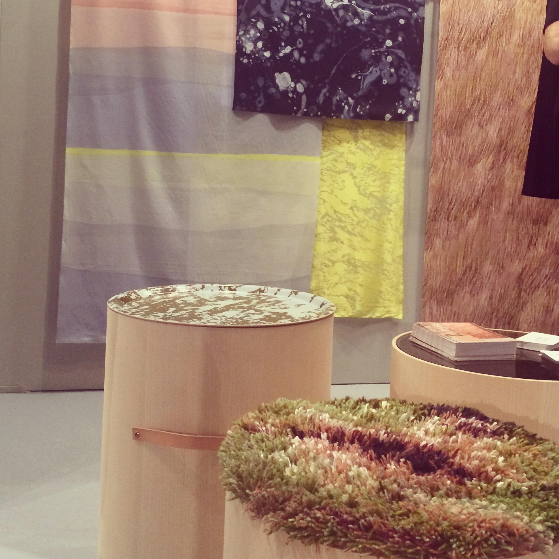 Fantastiskt fin ny kollektion från Studio Amanda och Matilda! Mellan himmel och jord heter den. Nu också i samarbete med spännande formgivaren Sophia Lithell, som gjort möbeln Rotunda. (Foto Kurbits)