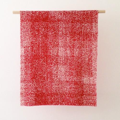 Sjal i yllemuslin av Margareta Heijkenskjöld Holmgren. (Foto Margareta Heijkensköld Holmgren)