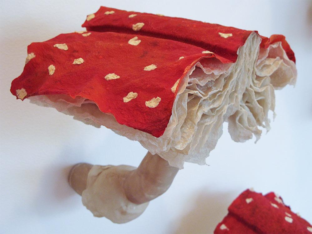 Läsvärda flugsvampar som konst