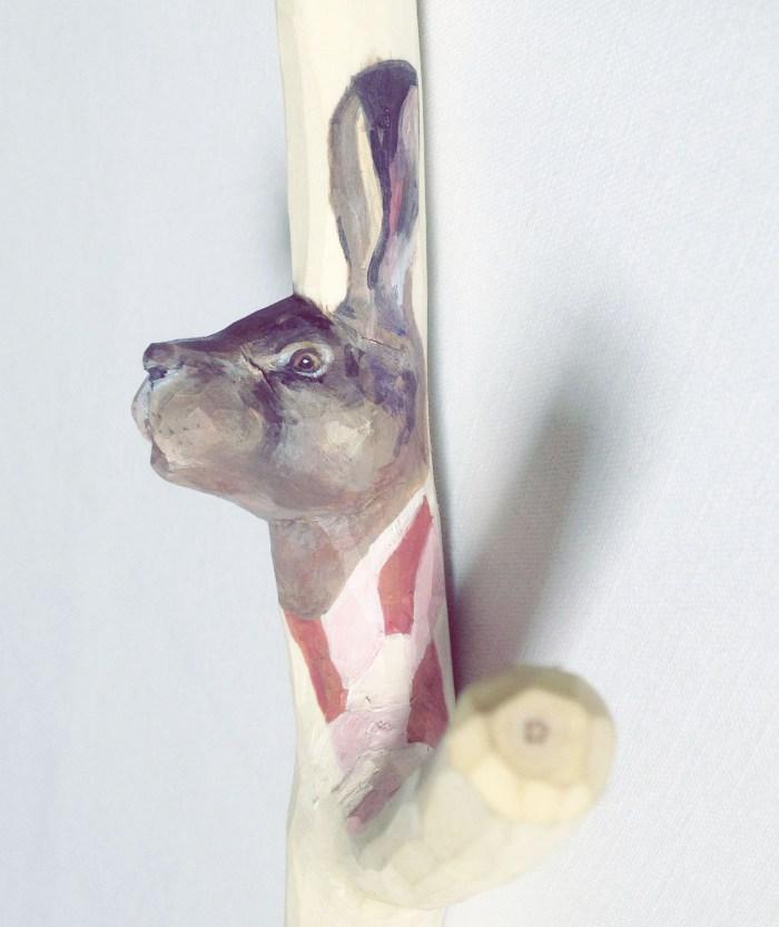 Harkrok av grenklyka, av Ulrika Roslund Svensson. (Foto Ulrika Roslund Svensson)