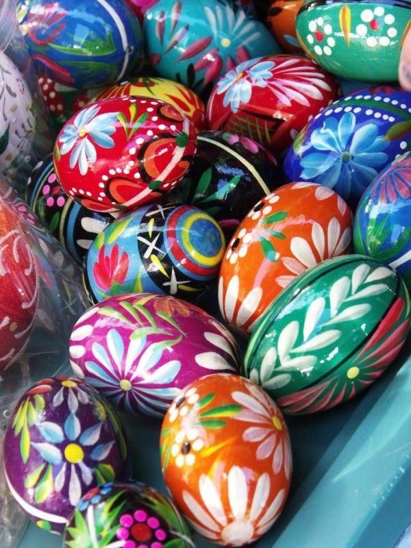 Polska blanka ägg i fina mönster och färger. (Foto reachpolska.info)