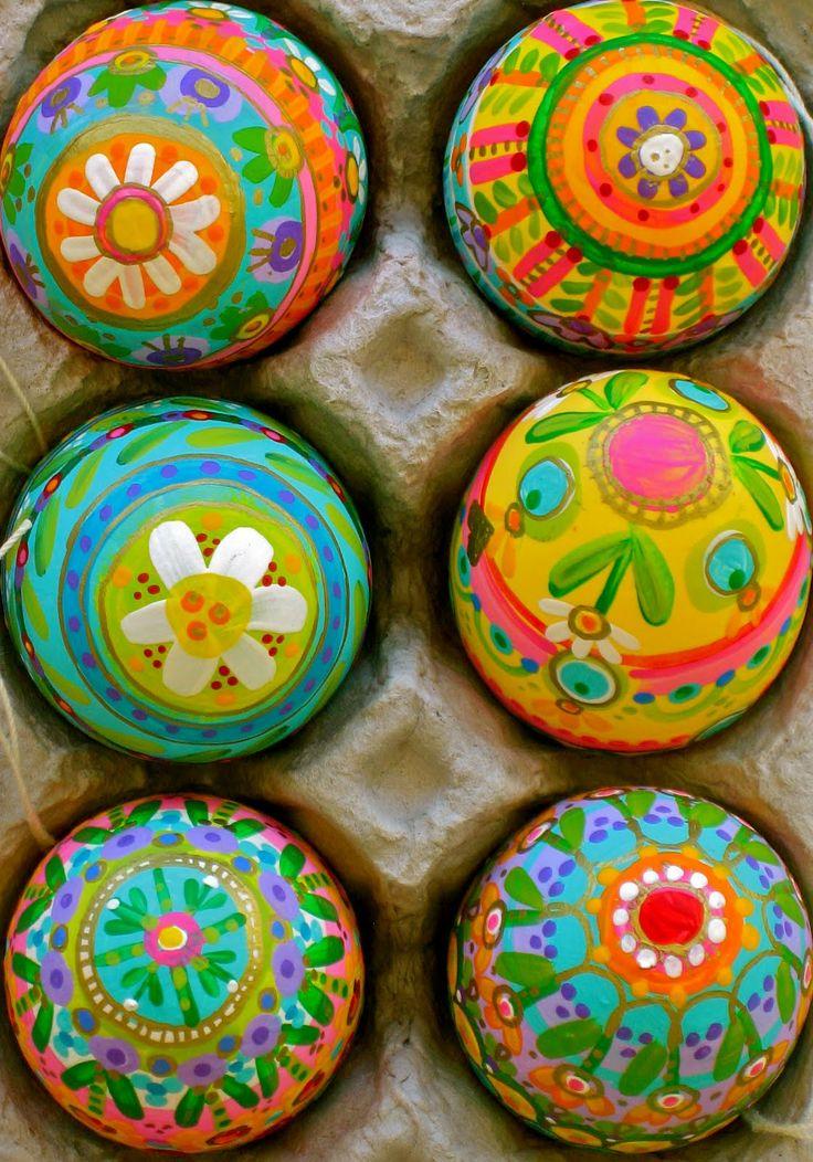 Fantastiskt målade ägg från indulgy.com. (Foto indulgy.com)