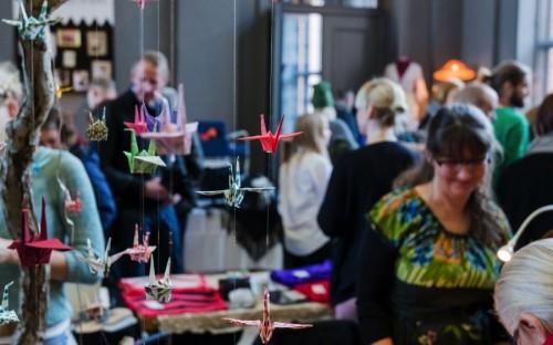 Designmarknaden À la London äger rum för femte året nu i helgen. Ny plats för denna marknad, det är på Auktionsverket i Göteborg som det finns 80-talet kreatörer redo att visa upp sina föremål. (Foto À la London)